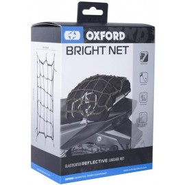 Bright Net- Black/ Reflective