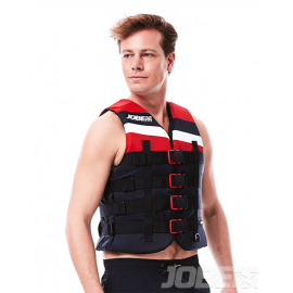 4 Buckle Vest Red-2xl