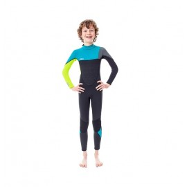 Boston 3/2mm Lime Wetsuit Youth Xs