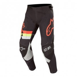 Alpinestars Techstar Venom Pants Black Red Fluo Yellow Fluo - 32
