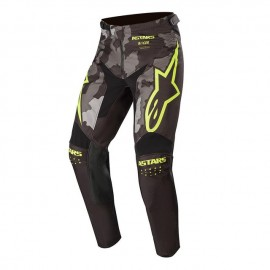 Alpinestars Racer Tactical Pants Black Gray Camo Yellow Fluo - 30