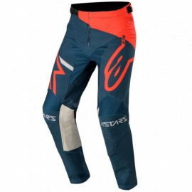 Alpinestars Racer Tech Compass Pants Bright Red Navy - 32