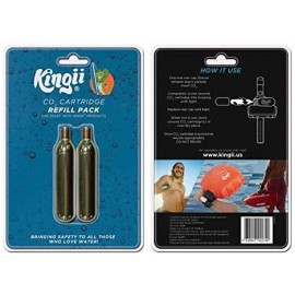 Kingii CO2 CANISTER 2 PACK