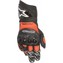 Alpinestars GP PRO R3 GLOVES - BLACK RED FLUO-L