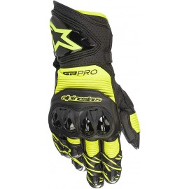 Alpinestars GP PRO R3 GLOVES - BLK YELL FLUO-M