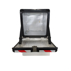 Others LED DELIVERY BOX WITH STICKER BLACK