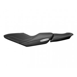 Riva Racing SEAT COVER, FX1800 BLK W/ SLVR STITCH
