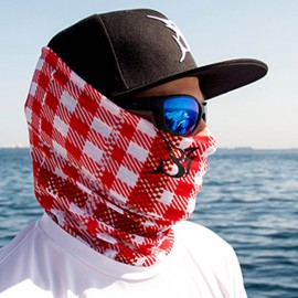 Face Shield Ghutra Red