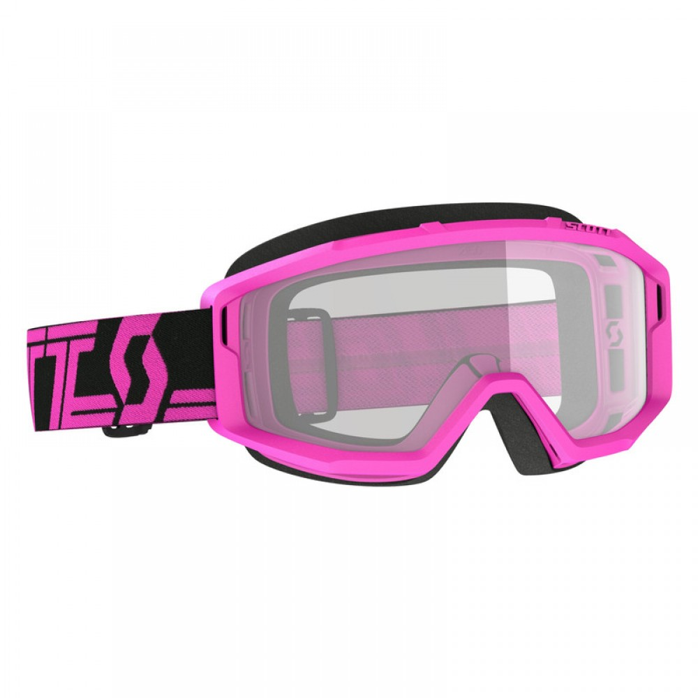 SCO Goggle Primal clear black/pink / clear