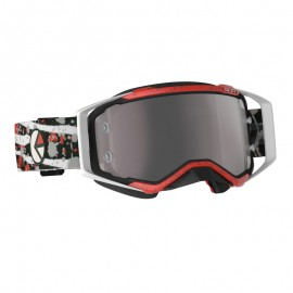 SCO Goggle Ethika Prospect red/black / silver chrome works