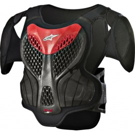 Alpinestars A-5 S YOUTH BODY ARMOUR - BLACK RED