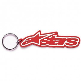 Alpinestars RUB KEYCHAIN RED