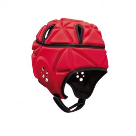Heavy Duty Softshell Helmet Red-L